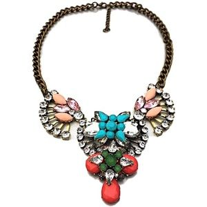 Jewelry - NWT Bohemian style bronze beaded necklace