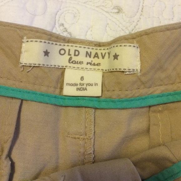 Old Navy - Khaki Low Rise Shorts from Jazmine's closet on Poshmark