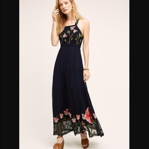 ⚡️last price⚡️Anthropologie tulip maxi dress