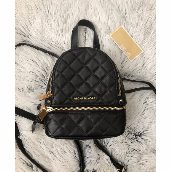 52f5fba36ab990 Michael Kors Bags | Nwt Rhea Mini Messenger Backpack | Poshmark