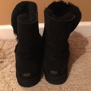 Black Ugg Boots Size 8