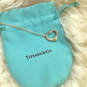 Tiffany & Co. Elsa Peretti Open Heart  Pendant