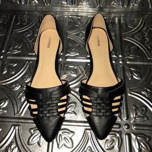 Express Shoes - **FINAL PRICE** Black D'orsay flats