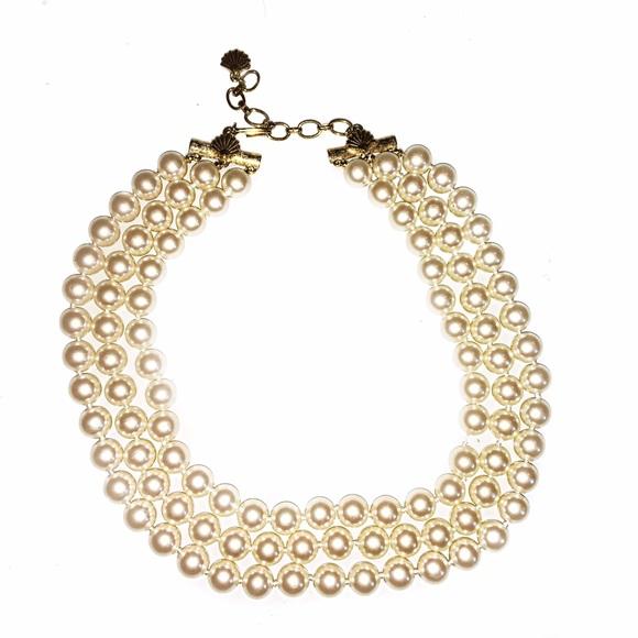 Vintage Jewelry Richelieu Pearl Multi Strand Necklace Poshmark