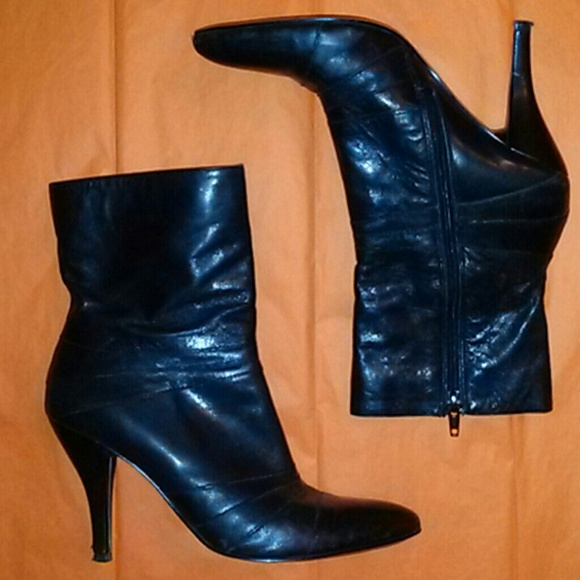 Nine West Shoes - Nine West Black Ankle Boots