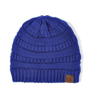 Accessories - CC beanie - royal blue