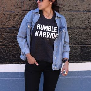 Spiritual Gangster Humble Warrior Tank Small