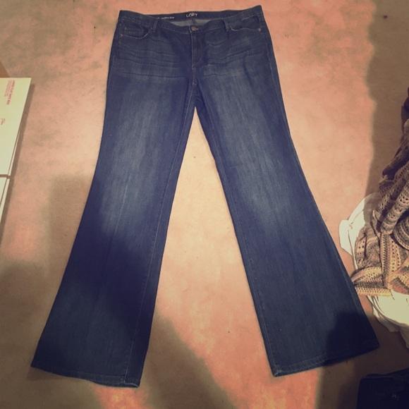 LOFT - LOFT, Modern Flare jeans, size 18. EUC. from Sara's closet ...
