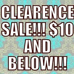 Scroll below for my clearance sale!!!