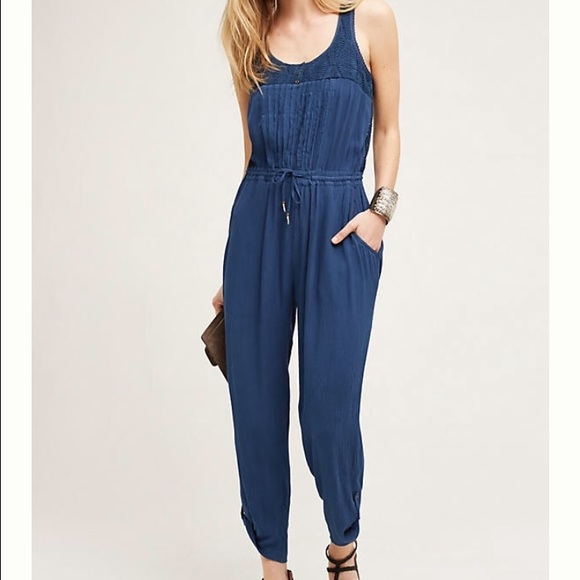 f7f9a46ee65 Anthropologie Pants - Taj Jumpsuit by Hei Hei new condition
