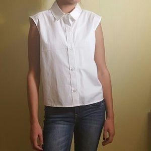 ABS Allen Schwartz Tops - Cute boxy sleeveless blouse