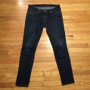 Kate Spade playing hooky slim leg jeans - sz 27