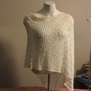 Accessories - NWOT asymmetrical poncho
