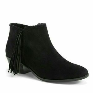 Sam Edelman Shoes - Sam Edelman 'Paige' Fringed Ankle Boots