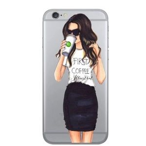 Accessories - NEW IPHONE 6/6S PLUS COFFEE FIRST CASE STARBUCKS