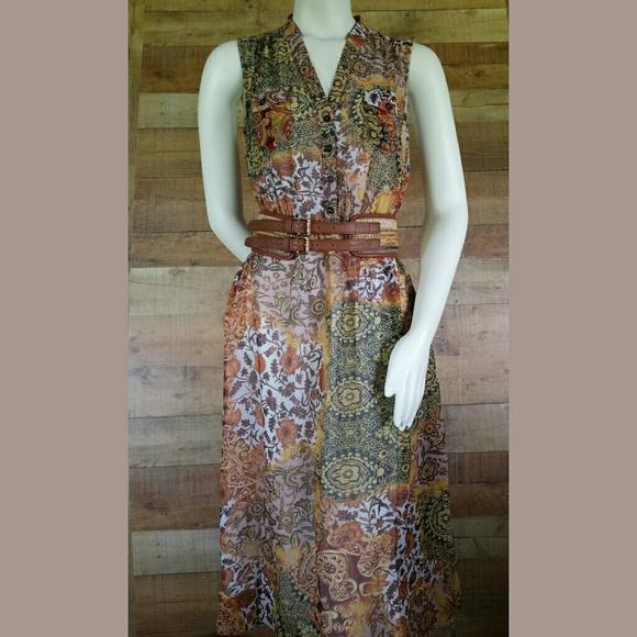 Foever21 Dresses & Skirts - Forever21 Floral Multi-Color Dress