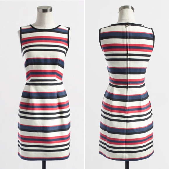 Factory multicolor stripe dress