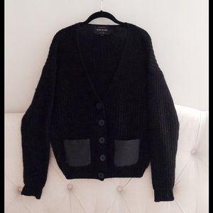 ASOS black chunky cardigan