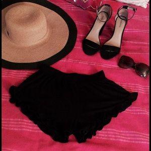 ASOS black shorts