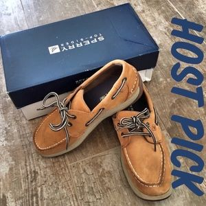 Sperry Top-Sider Other - 🌟Host Pick🌟Sperry Topsiders Leather Sz 3MY NWT
