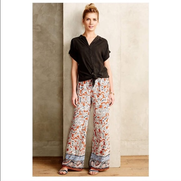 Anthropologie Pants - Anthropologie palazzo pants by hei hei