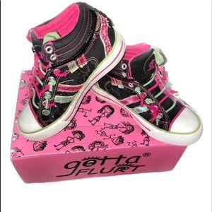 Gotta Flurt Other - Gotta Flurt Girl's Sparkly Hip Hop HighTops Sz 12M