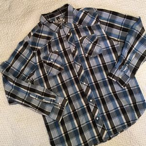 Reclaimed Vintage Other - Men's ReCLAIM relaxed fit button down shirt