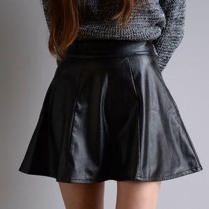 Nordstrom Dresses & Skirts - Socialite Faux Leather Skirt