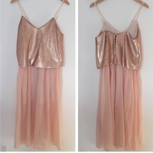 Keepsake Dresses & Skirts - Keepsake • Blush Sequin Dress