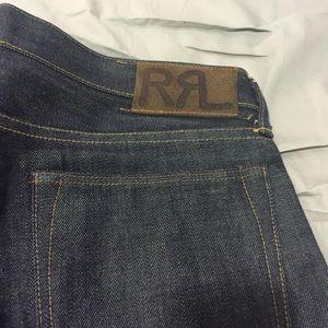 Ralph Lauren RRL Hard Denim Jeans