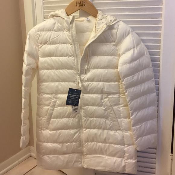 fe38a5570 Girls light warm padded coat by Uniqlo NWT