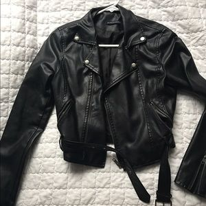 Brandy Melville faux leather jacket