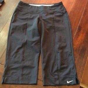 Nike Dri Fit Capri/ shorts size S