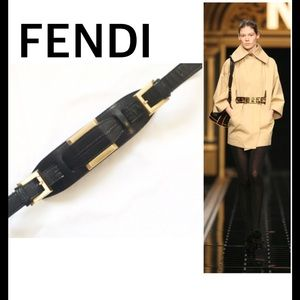 Fendi Double Buckle Belt