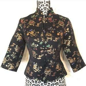 Fredrick's Of Hollywood Oriental Blouse-size 4
