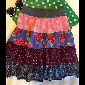 Matilda Jane Other - 🌺Matilda Jane gorgeous flower skirt EUC size 4 🌺