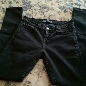 Midnight Blue dark Jbrand skinny jeans