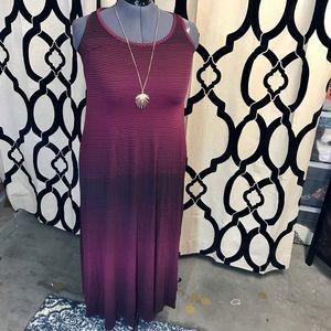 Boutique Gradient Maxi Dress