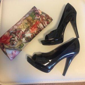 """Vera Wang Lavender"" patent leather heels"