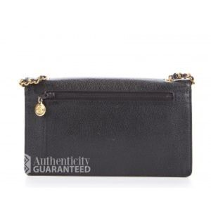 265b9f6888a CHANEL Bags   Black Caviar Messenger Wallet On Chain Woc   Poshmark
