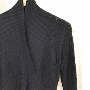 BCBGMaxAzria Tops - BCBG MaxAzria Shawl Collar Sweater