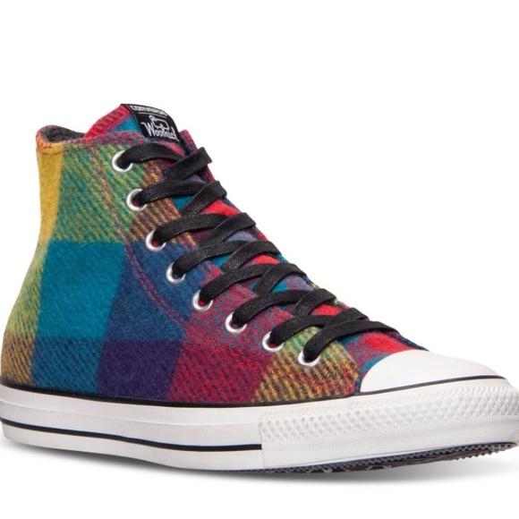 f72fd076c5d0 Multicolor Unisex Converse Woolrich Sneakers