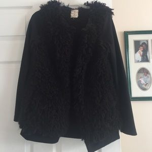Tulle Jackets & Blazers - Fuzzy sweater/jacket
