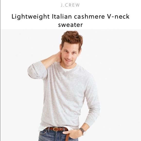 J Crew Sweaters J Crew Mens 100 Cashmere Sweater Poshmark