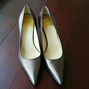 Cole Haan Shoes - Cole Haan Nike Air bronze pumps