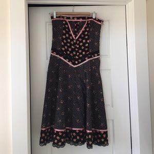 Strapless Ted Baker Dress