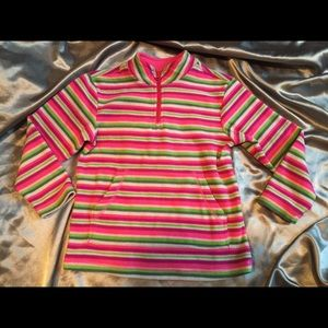 Hanna Andersson Other - Hanna Anderson girls 120 striped fleece pullover