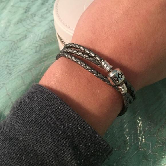 pandora bracelet triple