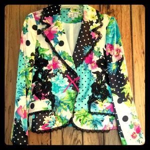 Alberto Makali Jackets & Blazers - Gorgeous Alberto Makali silk blazer