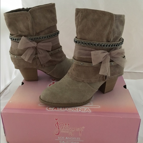 jelly pop boots